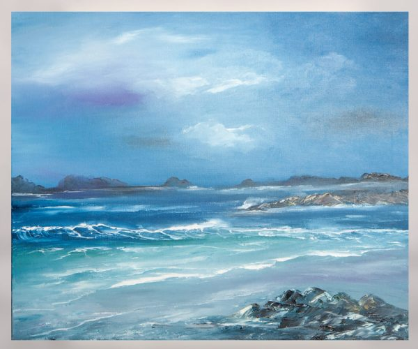 Sea - Original Canvas Oil Painting