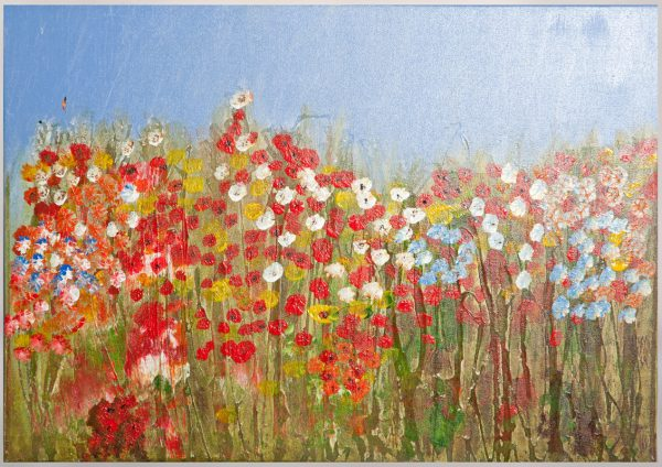 Poppies - Original Canvas Oil Painting