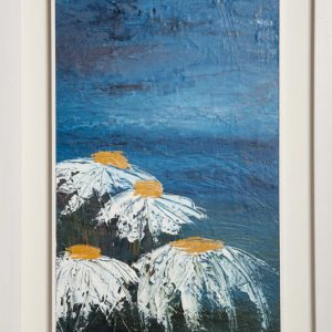 Daisy Days - Framed Canvas Oil Original