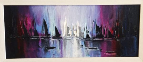 Harbour View – Original Oil Painting on Canvas