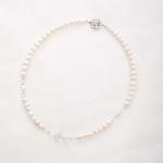 Bela – Freshwater and Swarovski Crystal Necklace, Bracelet & Earrings 7