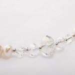 Bela – Freshwater and Swarovski Crystal Necklace, Bracelet & Earrings 4