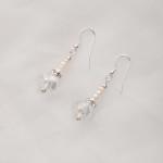 Bela – Freshwater and Swarovski Crystal Necklace, Bracelet & Earrings 6