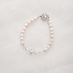 Bela – Freshwater and Swarovski Crystal Bracelet 2