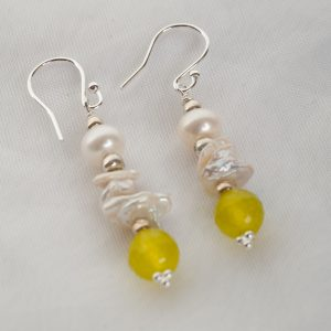 Culutered Pearl Earrings - bridal jewellery 3