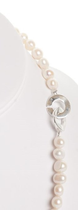 Isla -  Freshwater Pearl w/ Sterling Silver Clasp 5