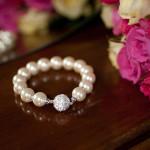 Alexandra- White coloured Freshwater pearl 5