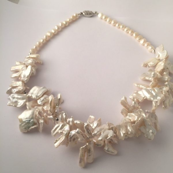 Atlantis - Double strand of Cultured Freshwater pearls 23