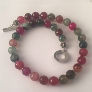 Great Amanda - Pink Agate Necklace