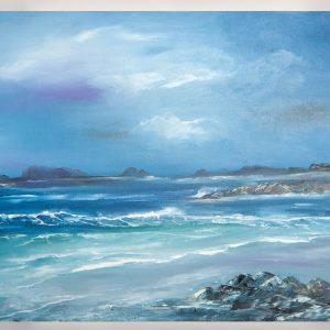 Sea - Original Canvas Oil Painting