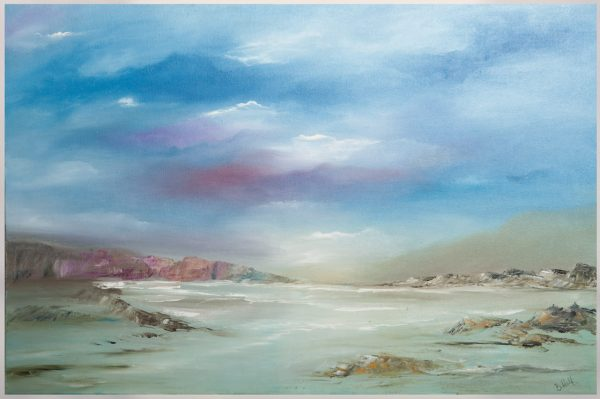 Seascape - Original Canvas Oil Painting