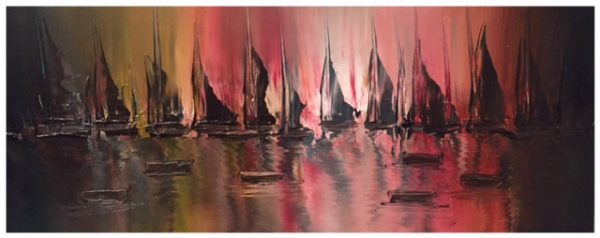 SOLD - Red Sky 5