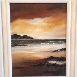 The Calm - Oil on Canvas