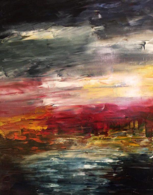 This original oil painting on canvas Irish paintings Barley Cove