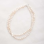 Ula – Double Strand Freshwater Pearl Necklace 2