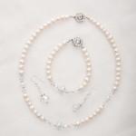 Bela – Freshwater and Swarovski Crystal Bracelet 4