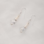 Bela – Freshwater and Swarovski Crystal Earrings 2