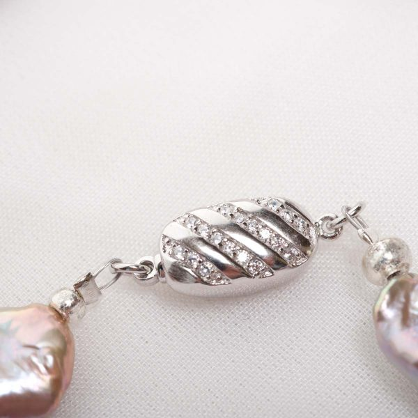 Lavinia -  (Pink)  Freshwater Pearl Necklace 6