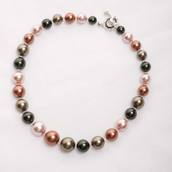 'Tasi' - South Pacific Seashell Crystal Bracelet 6