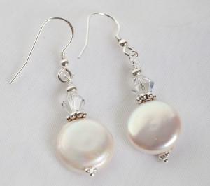 Culutered Pearl Earrings - bridal jewellery