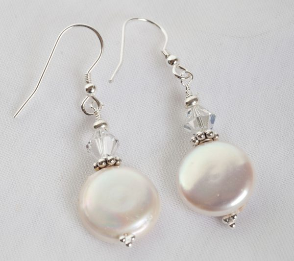Culutered Pearl Earrings - bridal jewellery