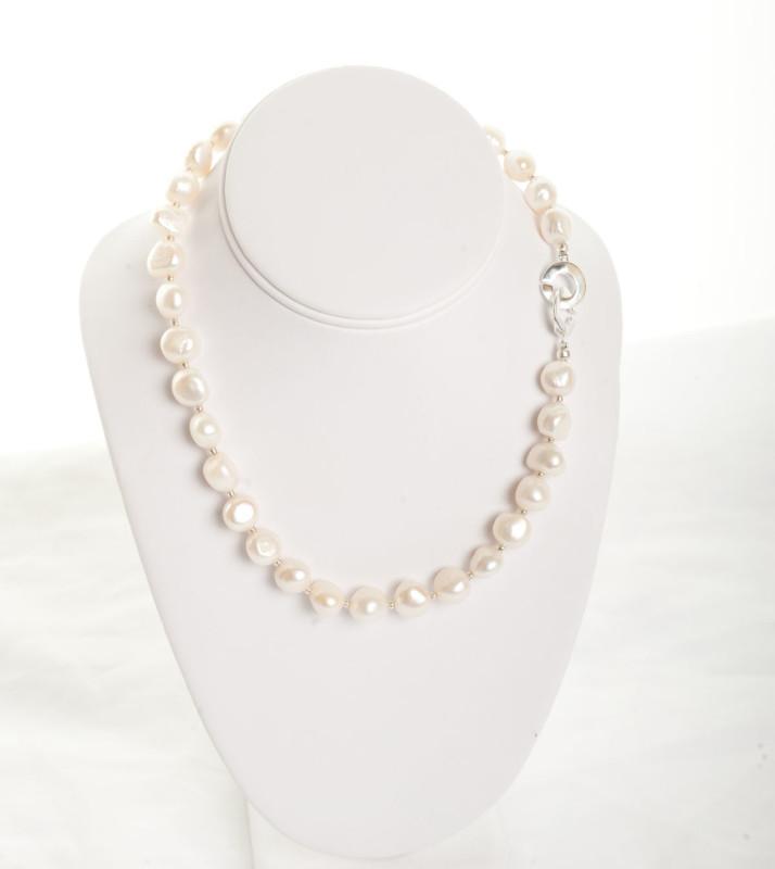 Isla -  Freshwater Pearl w/ Sterling Silver Clasp 4