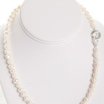 Isla -  Freshwater Pearl w/ Sterling Silver Clasp 2