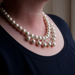 Alexandra- White coloured Freshwater pearl 3
