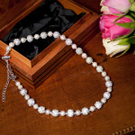 Karen - Freshwater Pearls with encrusted crystal beads 2