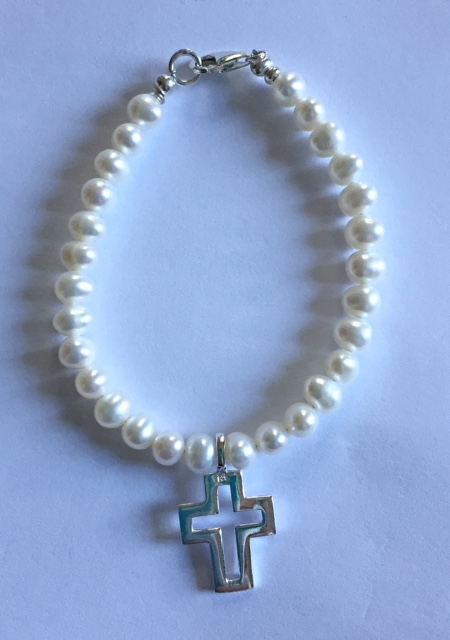 Holly Communion or Confirmation Bracelet