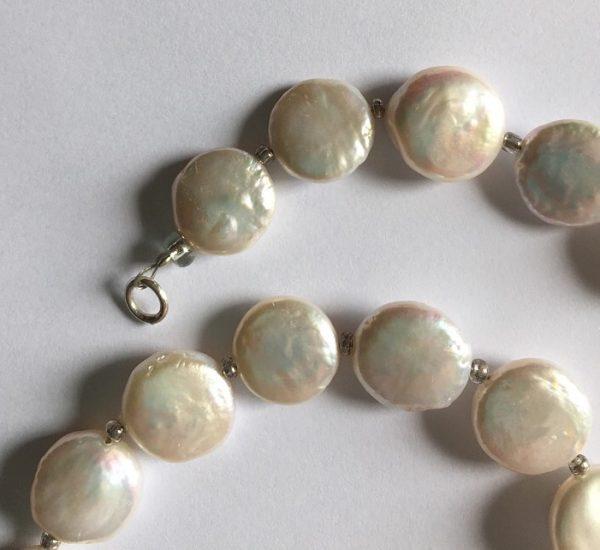 'Charlotte' -Pink  Freshwater Pearl Bracelet 3