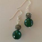 Amanda  Emerald - Green Agate Bracelet 2