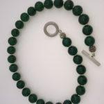 Emerald Green Agate Necklace - 'Agate' 4