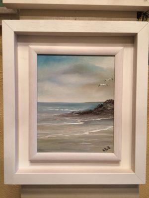 Oil on canvas board . Wild Atlantic Way. Irish Art