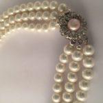 Glass pearl bracelet - Handmade in Ireland
