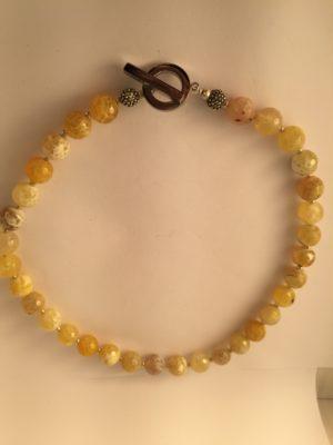 Agate honey coloured