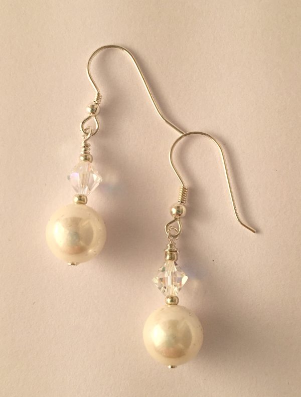 Rachel with Swarovski Crystal and Glass Pearls 13