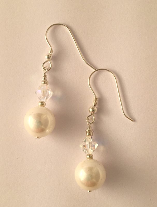 Rachel with Swarovski Crystal and Glass Pearls 29