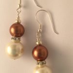 Rosemary- Glass Pearls and South Pacific Seashell 2