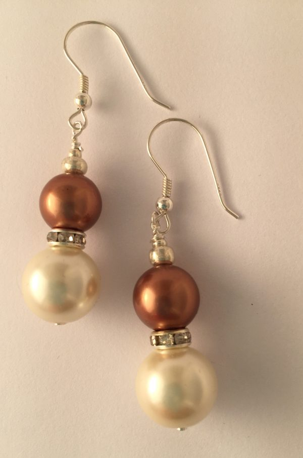 Rosemary- Glass Pearls and South Pacific Seashell 14