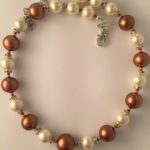 Rosemary- Glass Pearls and South Pacific Seashell 3