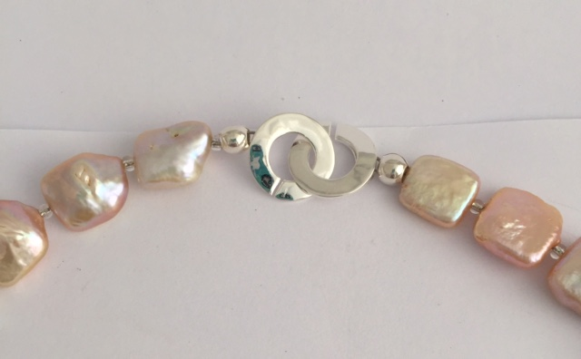 Lady Mary - Cultured Pearl Peach Bracelet 7
