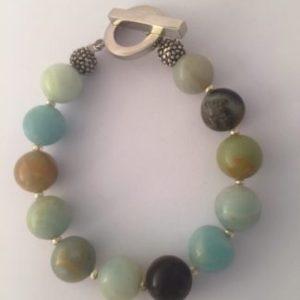Natural Amazonite Bracelet