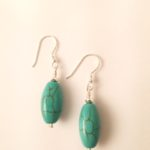Turquoise Hematite Earrings 2
