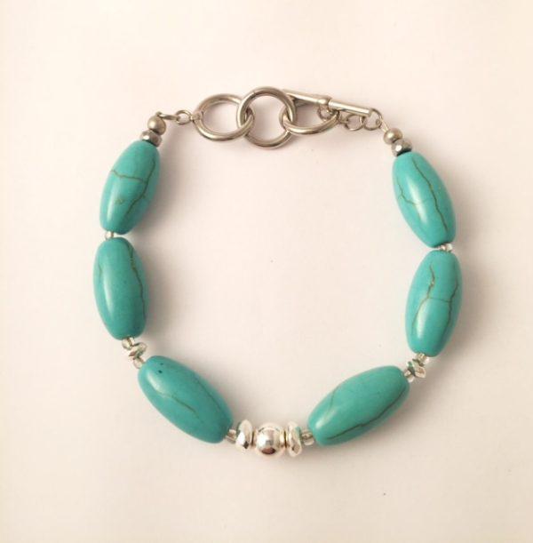 Turquoise Hematite Bracelet 5