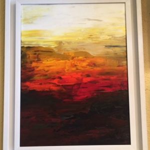 Peacefulness - Original Canvas Oil Painting