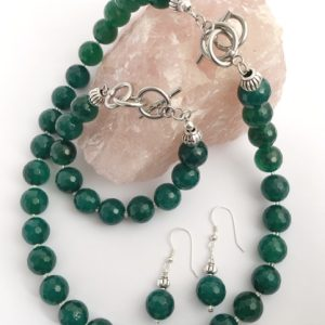 Green Agate Set
