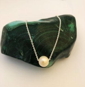 Freshwater pearl made in ireland. jewellery designer