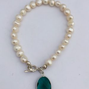 Green Crystal and Freshwater pear