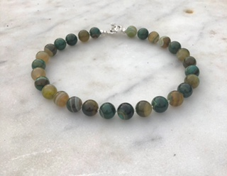 Green Large Agate.